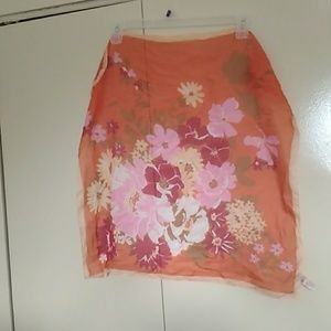 Floral Scarf - Made in Italy